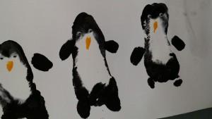 Pinguin basteln mit Kindern