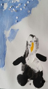 Pinguin Basteln