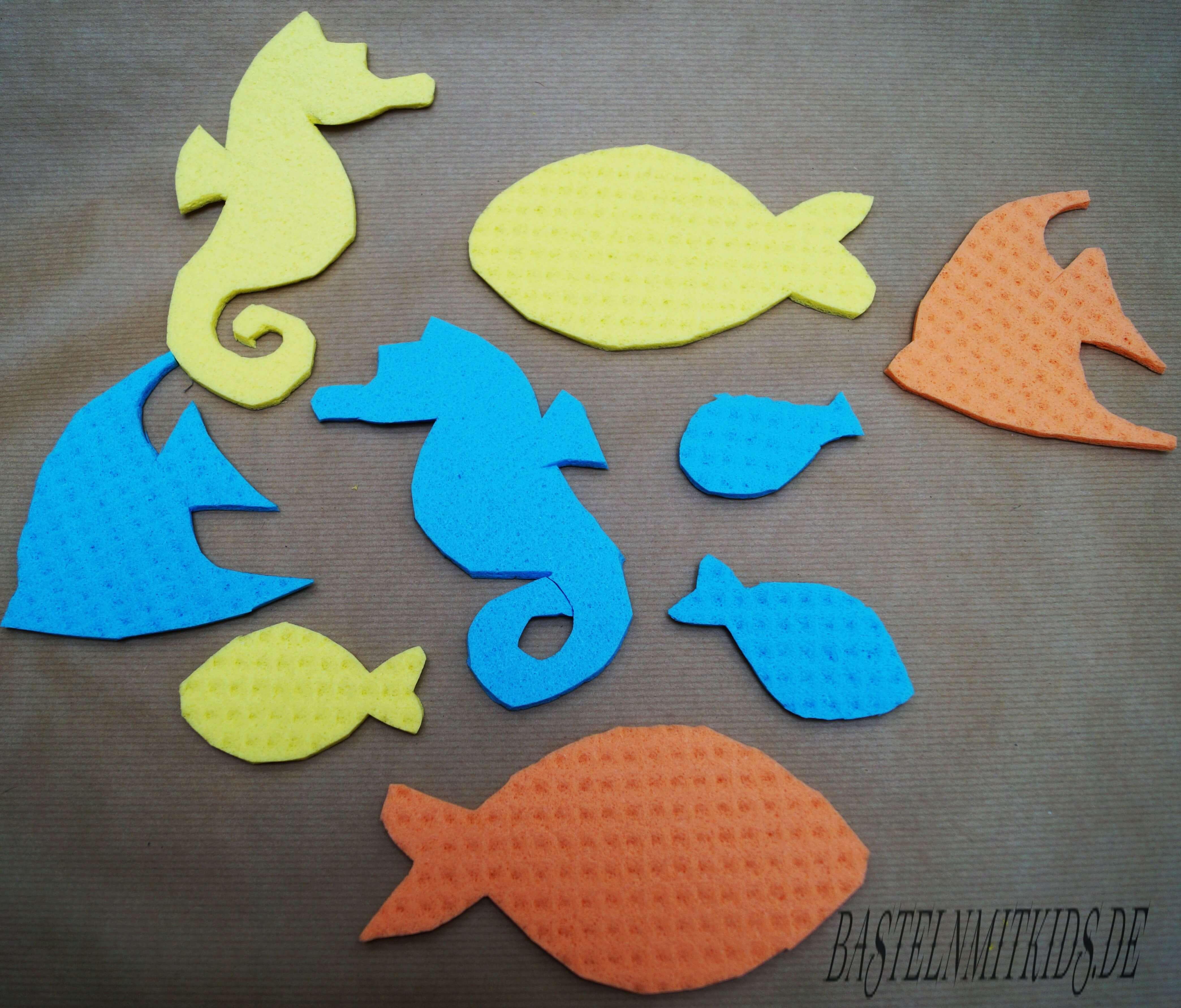 Angelspiele schnapp dir den fisch basteln mit kindern - Fische basteln vorlagen ...