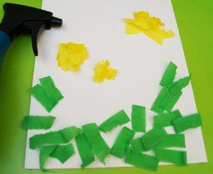 Papierblume basteln