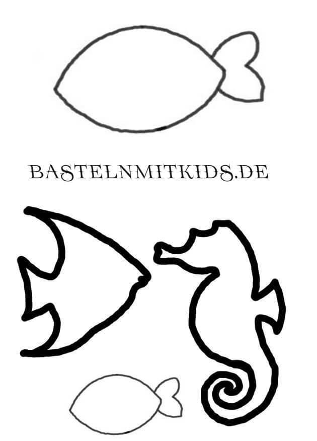 Fische Malvorlagen