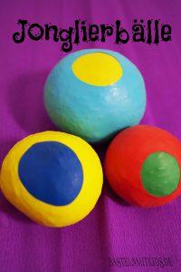jonglierb lle selber machen basteln mit kindern. Black Bedroom Furniture Sets. Home Design Ideas