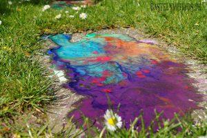 Auch Farben mischen ist einfach ein großer Spaß!