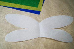 Libelle basteln Flügel