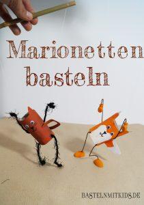Marionetten basteln herbst