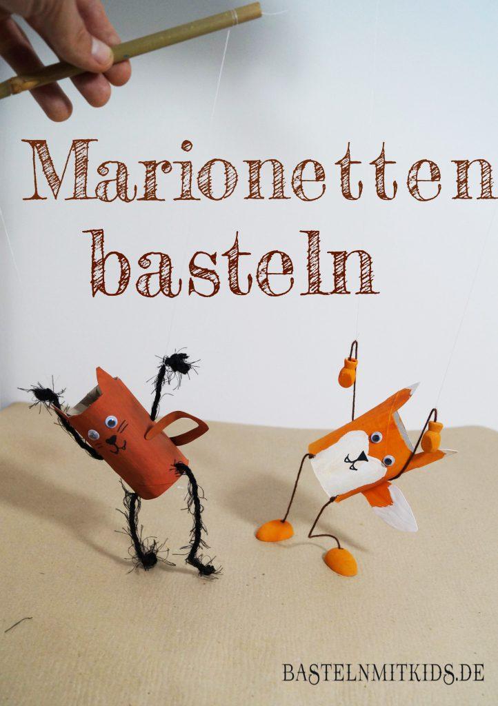 Marionetten basteln