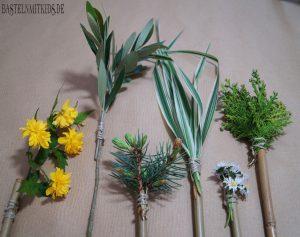 Basteln mit Naturmaterialien  Kinder
