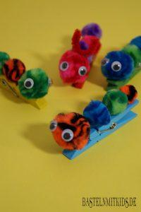 fruehlingsbasteln basteln mit kindern