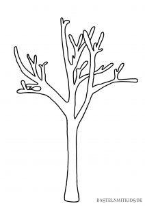 Baum Vorlage