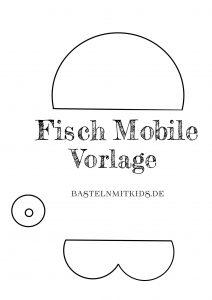 fisch basteln f r ein mobile basteln mit kindern. Black Bedroom Furniture Sets. Home Design Ideas