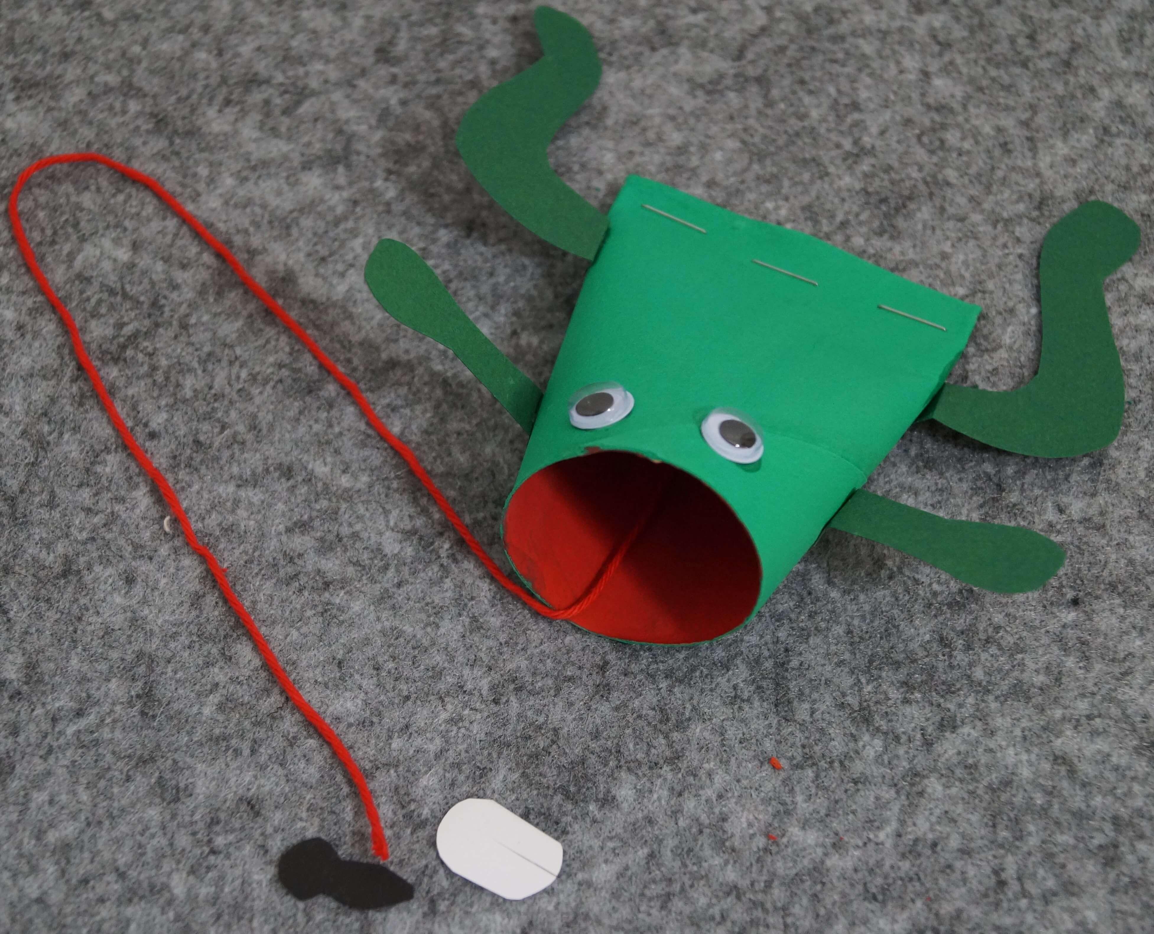 Frosch Basteln Einfach Und Schnell Basteln Mit Kindern
