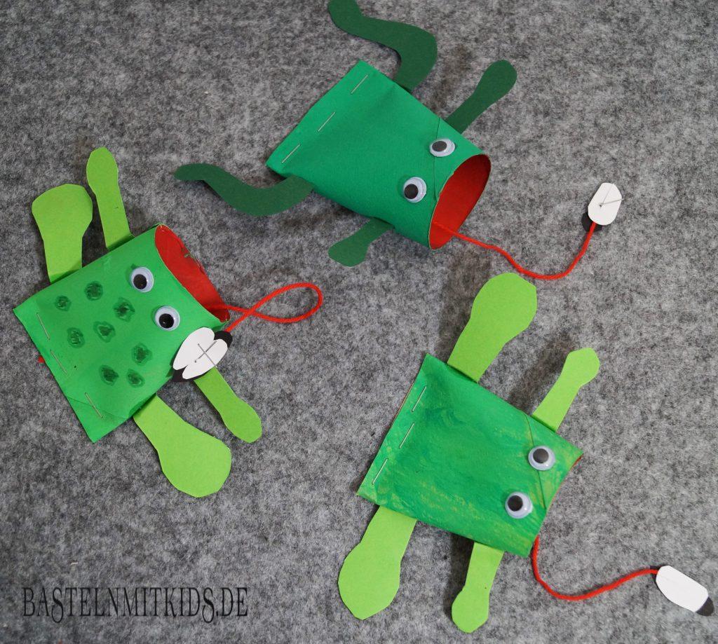 frosch basteln mit kindern