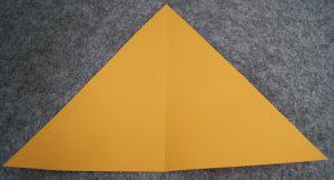 papier falten dreieck