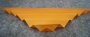 papier falten treppe