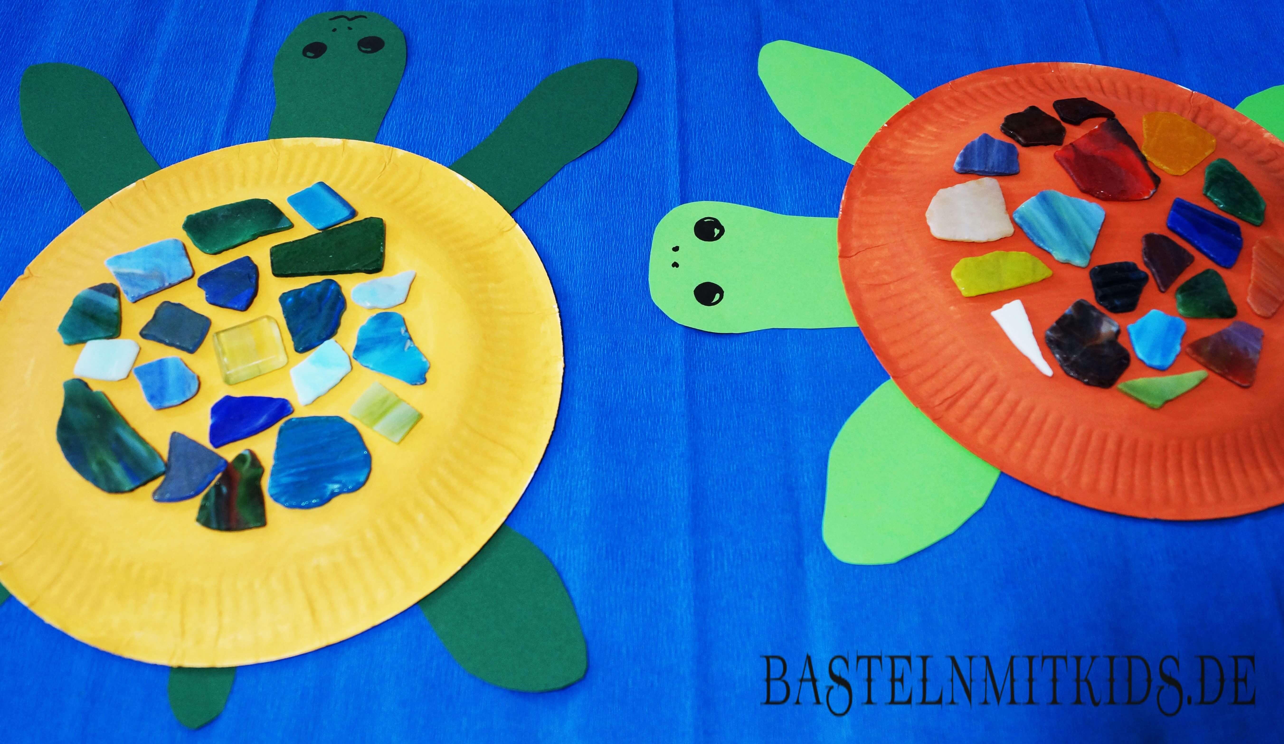 schildkröten basteln
