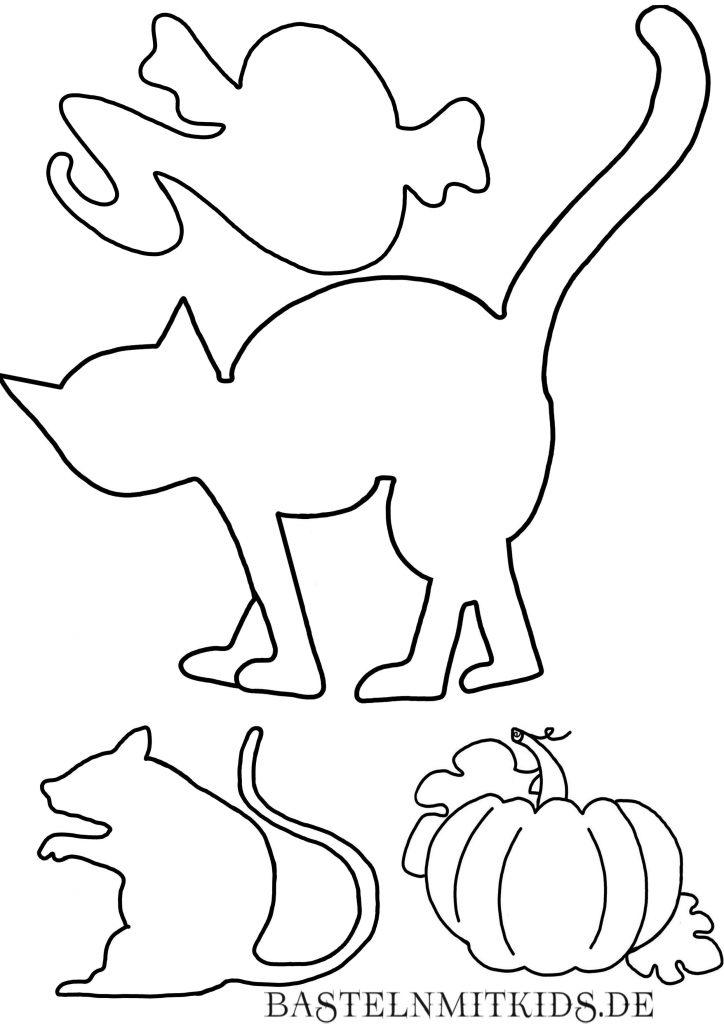 Halloween basteln mit Kindern - Basteln mit Kindern