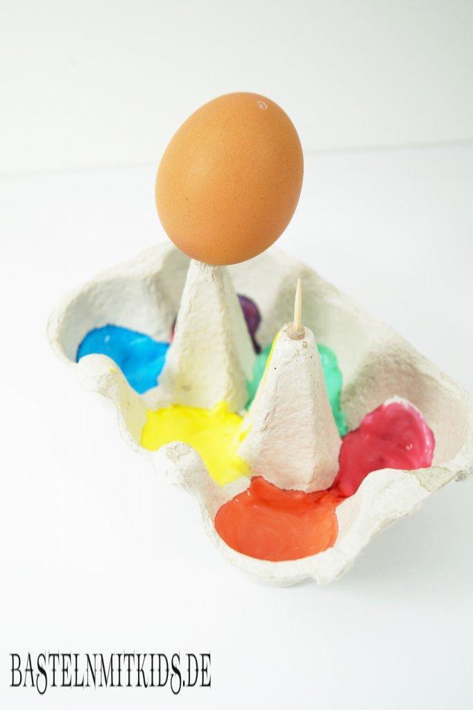 Osterei Bemalen Mit Kindern Bastelnmitkids