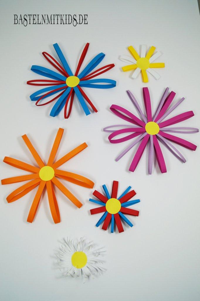 Blume basteln mit kindern