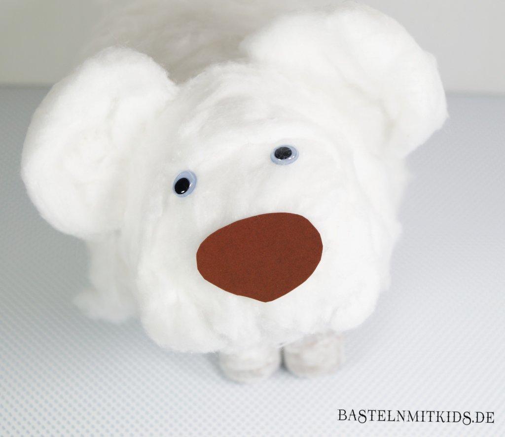 Eisbär basteln