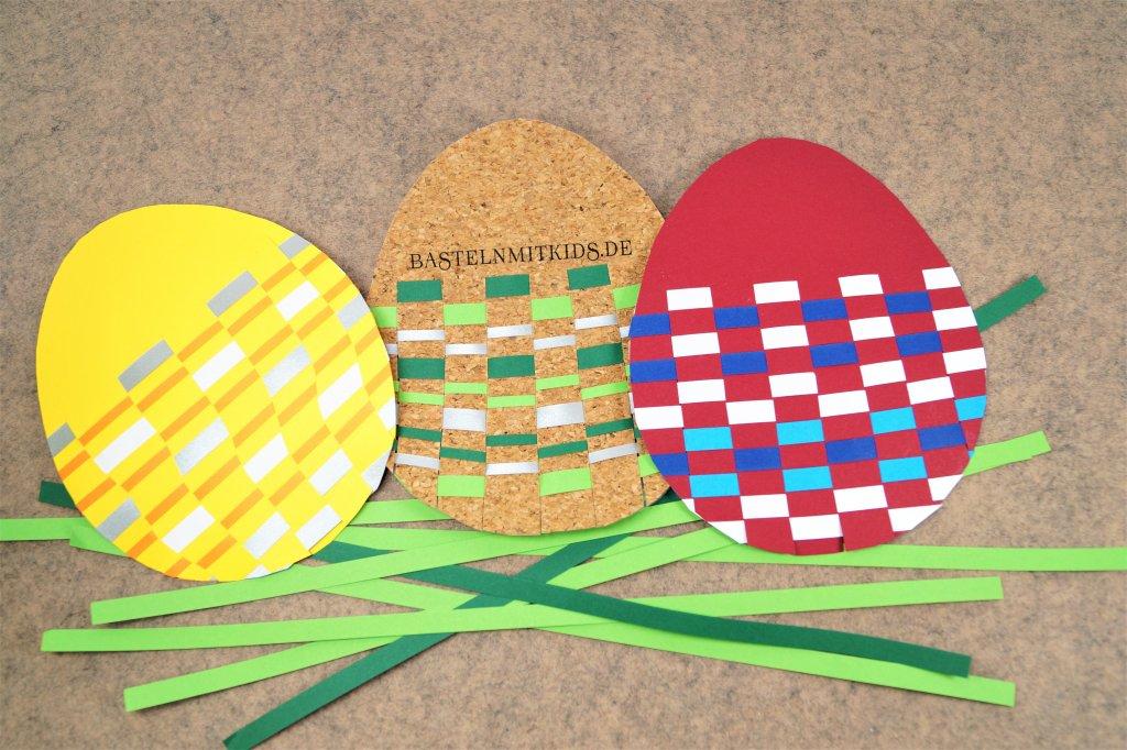 Ostereier Basteln Aus Papier Bastelnmitkids