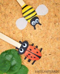 Bienen Basteln Mit Kindern Bastelnmitkids