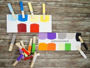 farben lernen und spielen