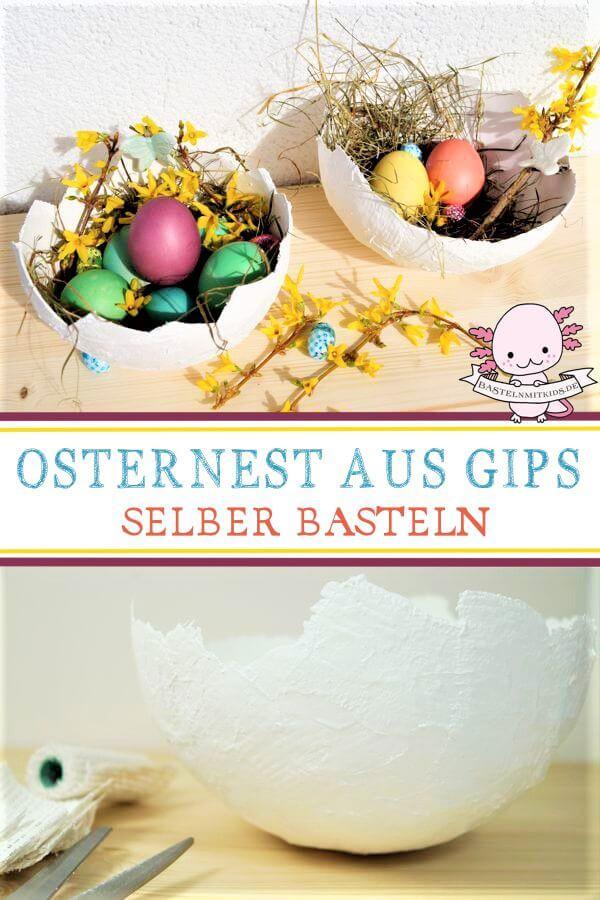 Osternest Basteln Mit Kindern Und Kleinkindern Zu Ostern