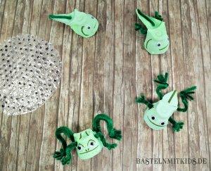Frosch Metamorphose basteln