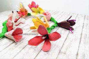 Blumenlichterkette selber machen