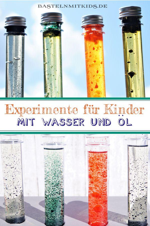 Experimente für kinder