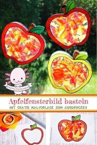 Apfel Thema kindergarten
