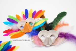 Vogelmasken basteln